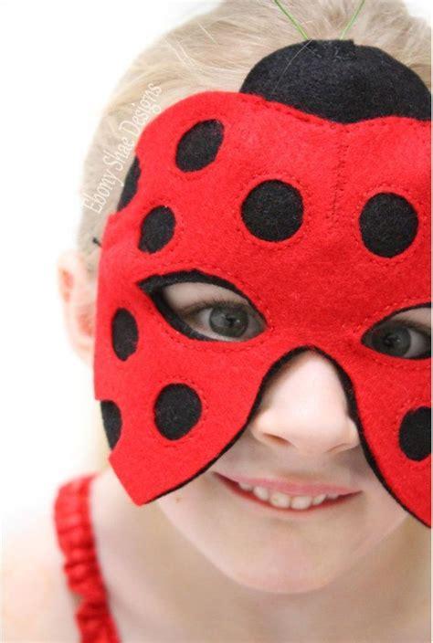 ladybug mask pattern instant  sewing pattern