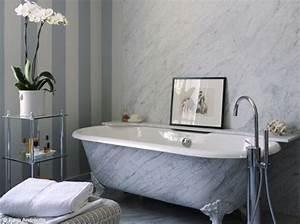 Une salle de bain tout en marbre so chic for Salle de bain chic