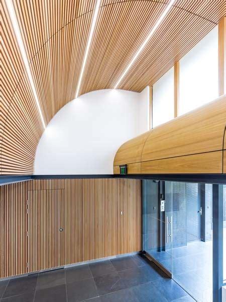 pj maitland design transforms entry areas  curved