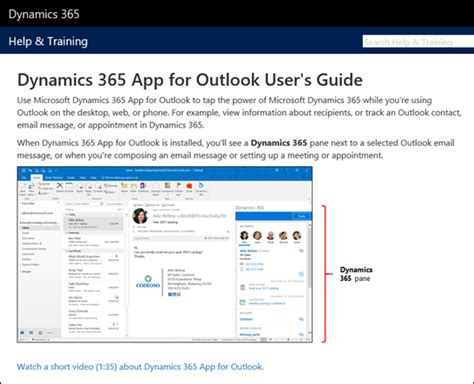 deploy dynamics 365 app for outlook