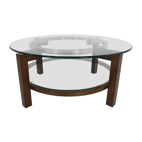 wolf table with glass table top macy s glass top coffee tables designer tables reference