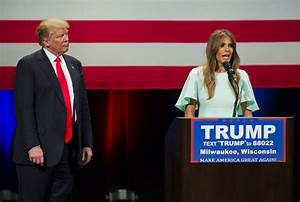 Trump's wife Melania joins campaign for first time   The ...
