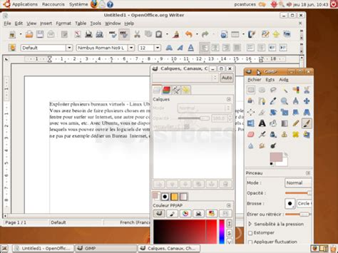 raccourci bureau ubuntu pc astuces exploiter plusieurs bureaux virtuels linux