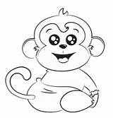 Coloring Monkey Abdl Max sketch template
