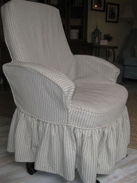 Diy Office Chair Slipcover Patterns Parsons Chair Covers