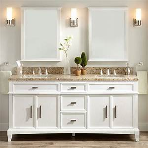 72, u0026quot, , livia, double, vanity, for, rectangular, undermount, sinks, -, white