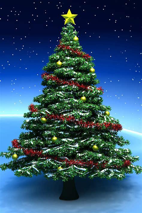 christmas tree iphone wallpaper hd