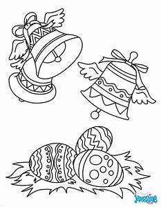 Coloriage De Paque : coloriages cloches de p ques ~ Melissatoandfro.com Idées de Décoration