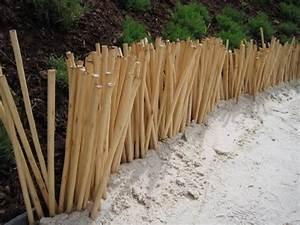 Objet Bambou Faire Soi Meme : am nagement du jardin des id es de bordures ~ Melissatoandfro.com Idées de Décoration