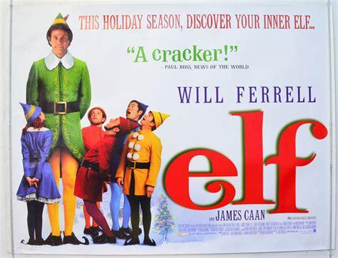 elf original cinema  poster  pastposterscom