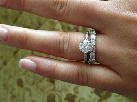 opinions please do these mismatched rings go well