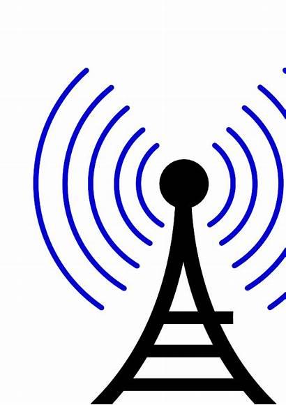Wireless Tower Radio Clipart Clip Symbol Icon