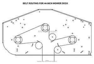 Gravely Belt Routing Diagram