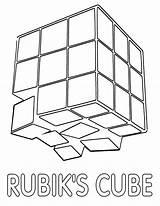 Rubik sketch template