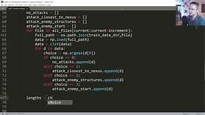 Training Neural Network - Python AI in StarCraft II ...