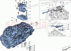 Ferrari 488 Gtb Gearbox Housing Parts