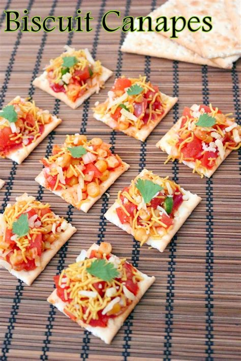 how to canapes recipe of biscuit canapes how to biscuit canapes