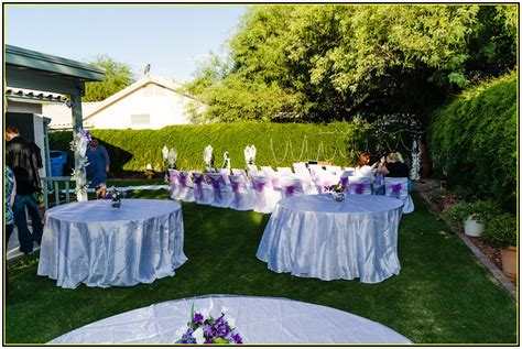 inexpensive backyard wedding simple backyard weddings