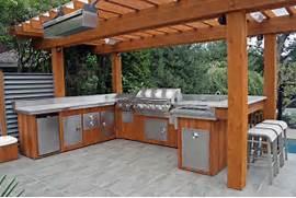 Outdoor Kitchen Plans by 5 Ideas To Decide An Outdoor Kitchen Design Modern Kitchens