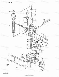 Suzuki Atv 1985 Oem Parts Diagram For Carburetor