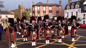 Pipe Band St Andrews Day Celebrations Blairgowrie ...