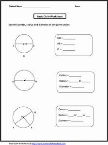 Basic Circle Worksheets
