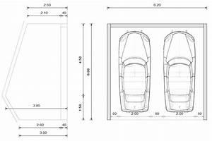 Garage 2 Voitures : plan construction garage voiture maison fran ois fabie ~ Melissatoandfro.com Idées de Décoration
