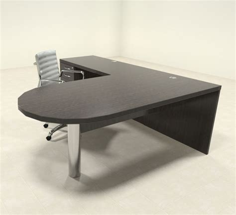 contemporary l shaped desk 3pc modern contemporary l shaped executive office desk set