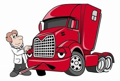 Mechanic Diesel Clipart Truck Transparent Engine Clip