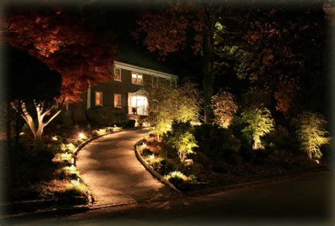 beautiful landscape lighting design for your home front