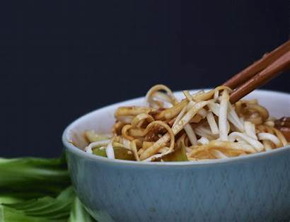 Chicken Noodles Choi Pak Teriyaki Udon Sesame
