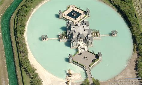 Spectacular House Surrounded By Moat by Spectacular House Surrounded By Moat