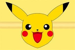 Pikachu Cut Out Face