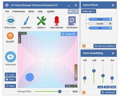 Changer Voice Av Software Pc Diamond Effects