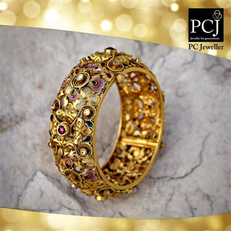 bangles pc jeweller jewellery gold