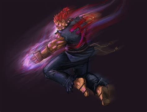 Street Fighter Akuma By Yamaorce On Deviantart