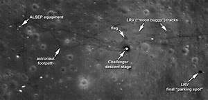 Pictures old tracks left on the moon   Space   EarthSky