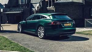 Wallpaper Tesla Model S Shooting Brake, 2018 Cars