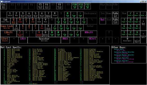 siege program keyboard layout at oblivion nexus mods and community