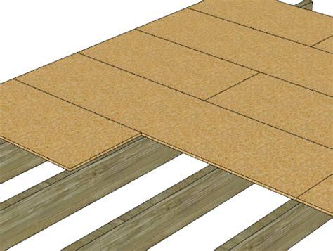 italienne sur plancher bois les etapes la construction bois 233 par 233