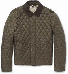 burberry barn jacket burberry brit corduroy collar quilted With burberry barn jacket