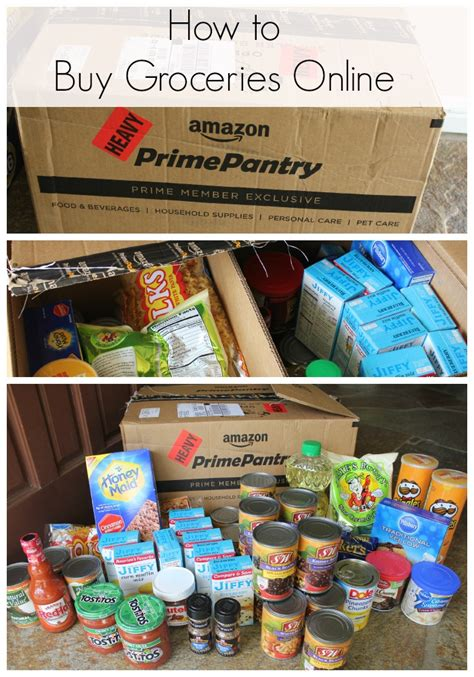 Amazon Prime Pantry Shopping Trip