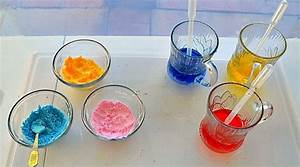 Science Experiments For Kids   Fizzing Color Mixing