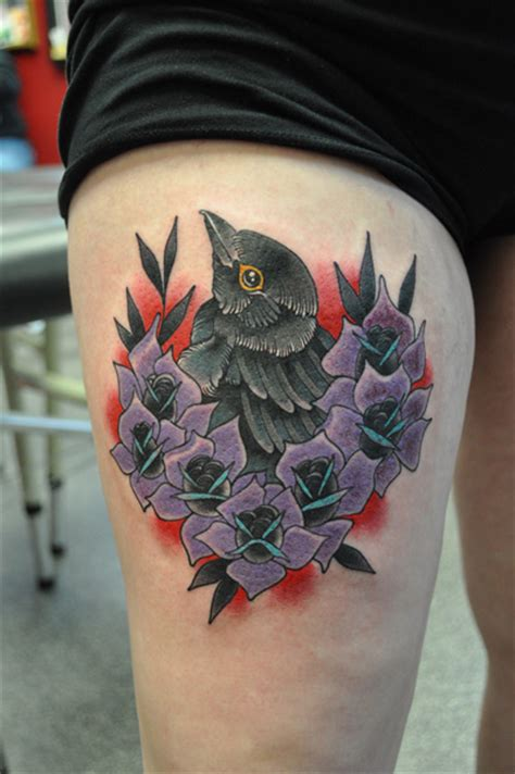 blackbird  roses  josh hoffman living arts tattoo