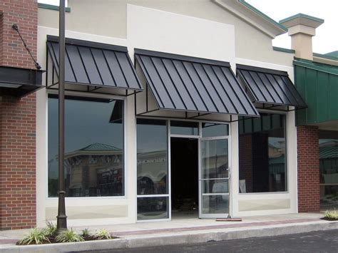 The Armor-clad Standing Seam Awning