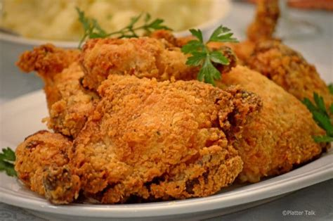 oven fried chicken oven fried buttermilk chicken platter talk