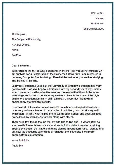 job application letter exle ks2 job application letter