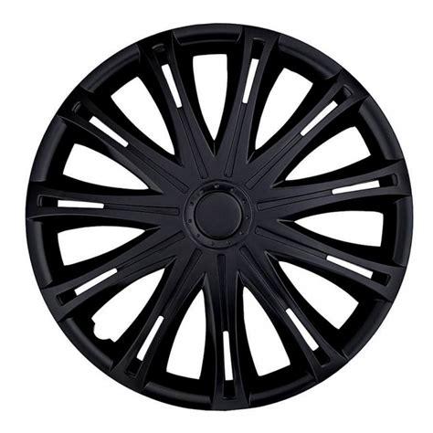 siege lotus pack de 4 enjoliveurs de roues noir en 15 pouces