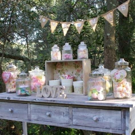 pack candy bar vintage pour mariage anniversaire fille