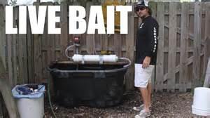 100 Gallon Live Fishing Bait Tank Build Video - Supreme Live Well ...